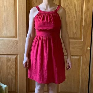 NWT, Emmelee little red holiday dress, size Small